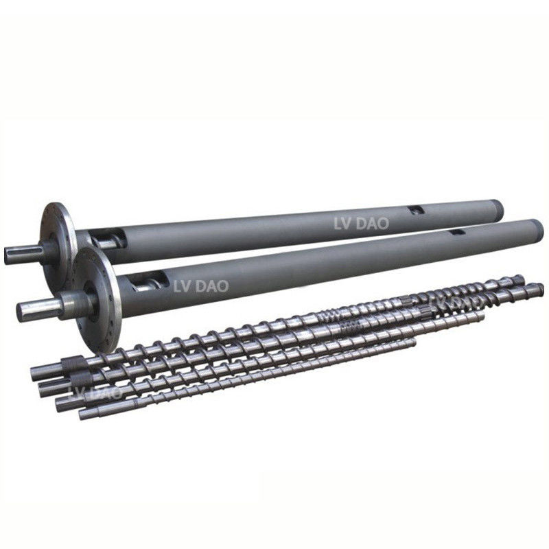 Industrial Extruder Screws And Barrels 240-300kg/H Capacity CE Approval