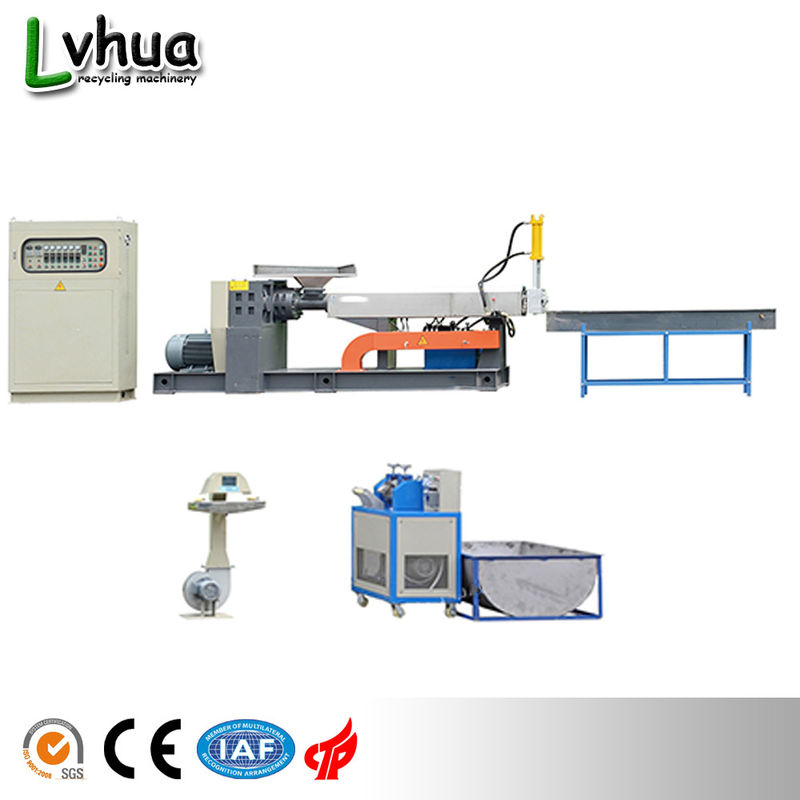Waste Plastic Bottle Chips PET Plastic Recycling Machine Customized Voltage