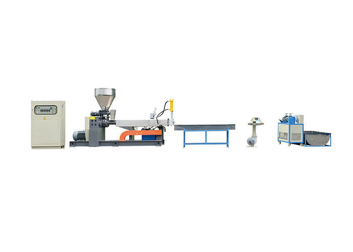 Blue Color High Output PET Plastic Recycling Machine Automatic 30kw Power